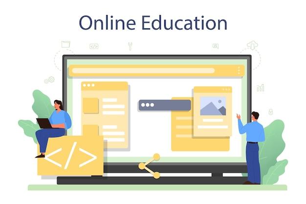 Usługa lub platforma online dla programistów frontendowych