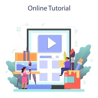 Usługa lub platforma online dla szkół artystycznych