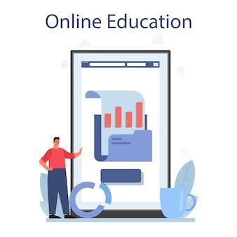 Usługa lub platforma online do analizy dużych zbiorów danych biznesowych