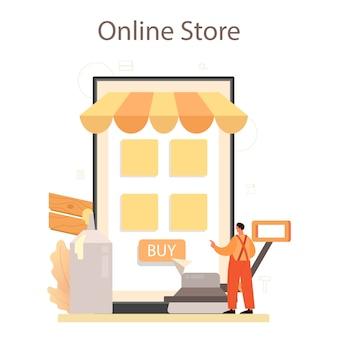 Usługa lub platforma online do montażu podłóg