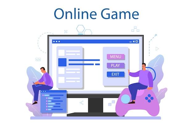 Usługa lub platforma online do tworzenia gier.