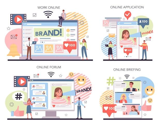 Usługa lub platforma w mediach społecznościowych