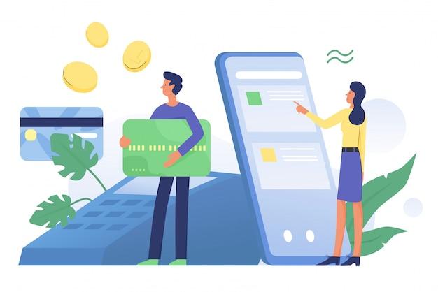 Usługa płatności cyfrowych