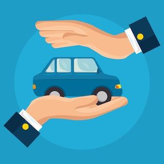 Usługa ubezpieczenia samochodu