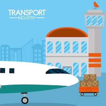 Usługi lotnicze branży transportowej