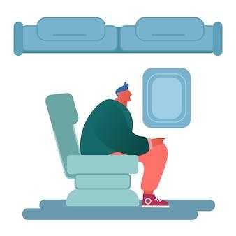 Usługi transportu lotniczego, podróże.