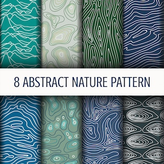 Ustaw abstrakcyjny wzór przyrody