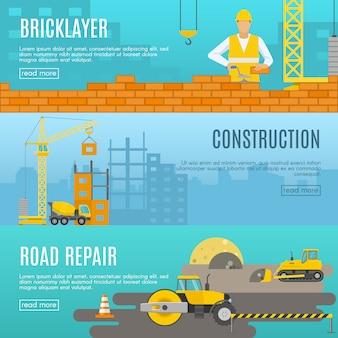 Ustaw baner budowy