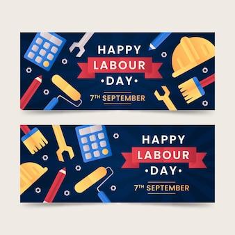 Ustaw baner dzień pracy