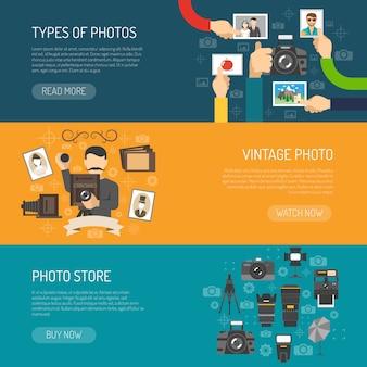 Ustaw baner fotograficzny