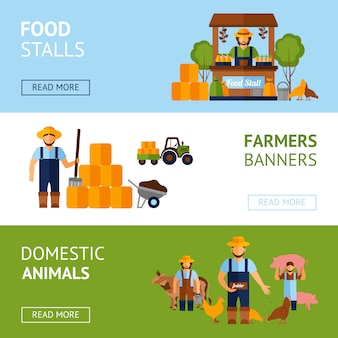 Ustaw baner rolników