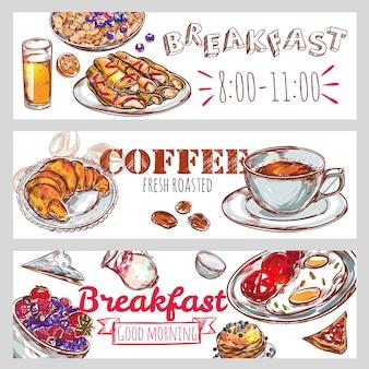 Ustaw baner śniadaniowy