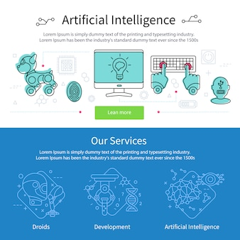 Ustaw baner sztucznej inteligencji