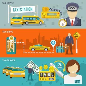 Ustaw baner taxi