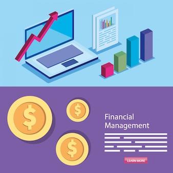 Ustaw baner zarządzania finansami