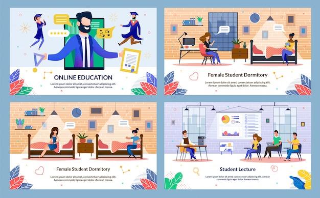 Ustaw banner online education