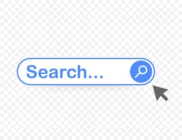 Ustaw element paska wyszukiwania, zestaw szablonów pól wyszukiwania ui