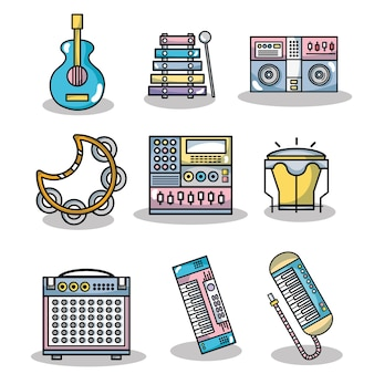 Ustaw elementy muzyki technologicznej, aby tworzyć muzykę
