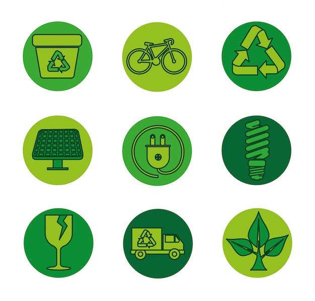 Ustaw etykietę ekologii na ochronę środowiska