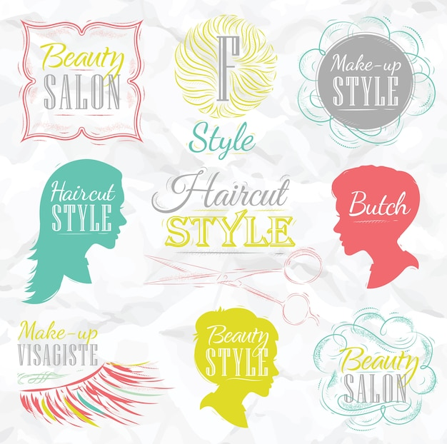 Ustaw kolor salon kosmetyczny