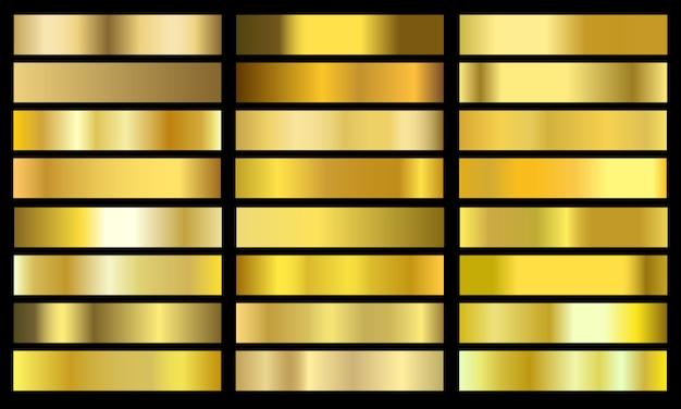 Ustaw kolor złoty gradient chrom kolor folia tekstura tło.
