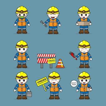Ustaw konstrukcję budowlaną
