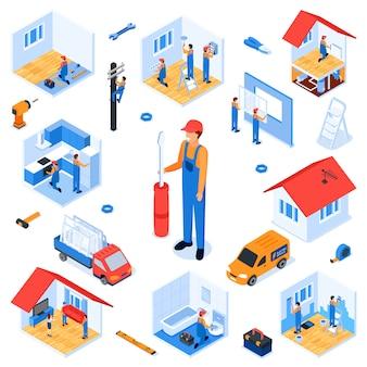 Ustaw mieszkanie pod klucz remont mieszkania izometryczny.