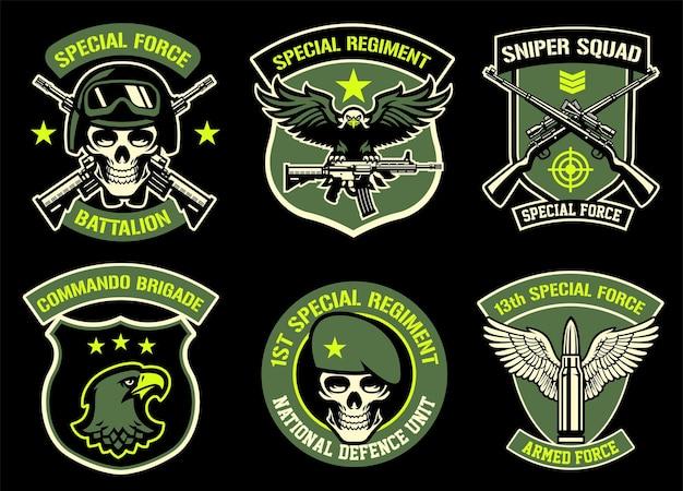 Ustaw pakiet odznaki wojskowej