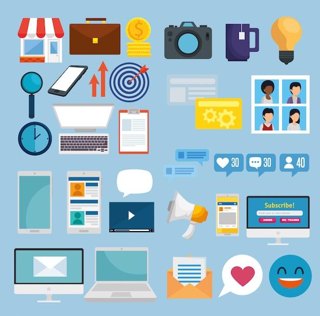 Ustaw połączenie sieci społecznościowej z komunikatem
