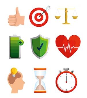 Ustaw równowagę stylu życia poprzez zdrowe ćwiczenia