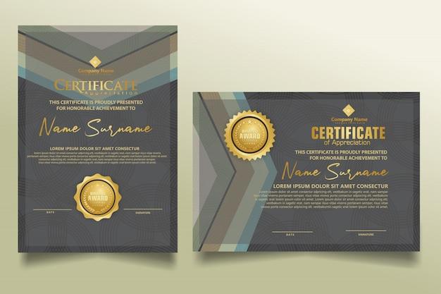 Ustaw szablon certyfikatu