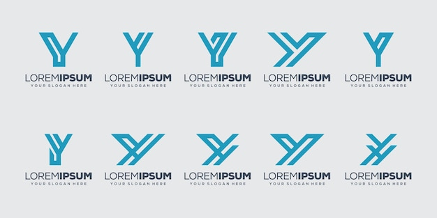Ustaw szablon początkowej litery i logo pakietu
