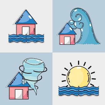 Ustaw warunki pogodowe i naturalną temperaturę