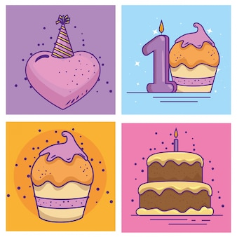 Ustaw wydarzenie z okazji urodzin z dekoracją