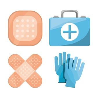 Ustawić apteczkę pierwszej pomocy w aptece