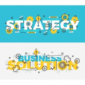 Ustawić banery biznes