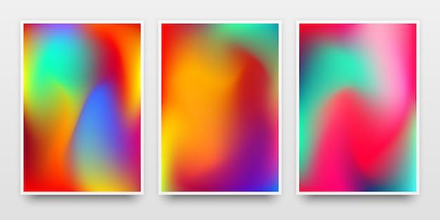 Ustawić kolorowe tła gradientu