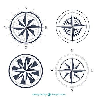 Ustawić proste kompasy