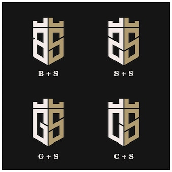 Ustawić tarczę napis logo kombinacji projektu