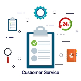Ustawienia płaskie obsługi klienta
