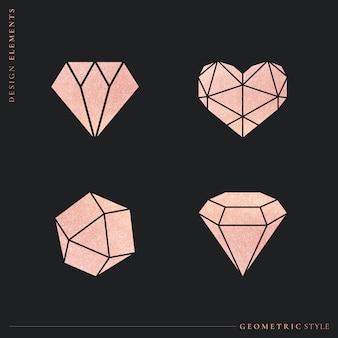 Ustawione kształty geometryczne