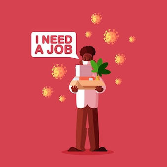 Utrata pracy z powodu kryzysu koronawirusa