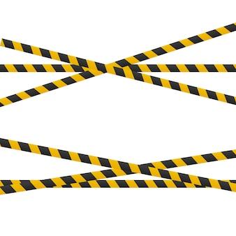 Uwaga linie na białym tle