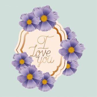 Uwielbiam wiktoriańską ramkę z kwiatami