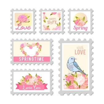 Uwielbiam znaczek pocztowy.