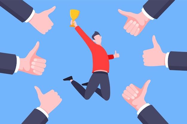 Uznanie pracownika lub dumny pracownik miesiąca