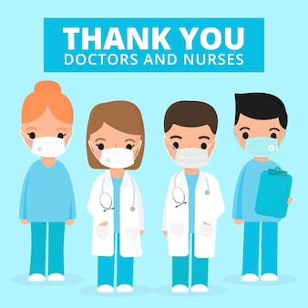 Uznanie pracowników służby zdrowia