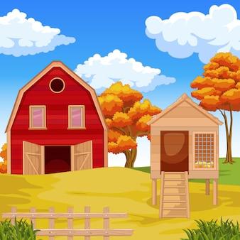 Użytki rolne ze stajnią na polu