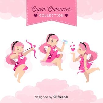 Valentine girl cupid pack
