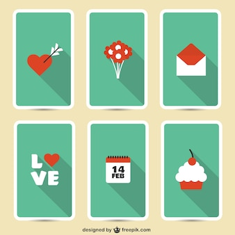Valentine ikony pack